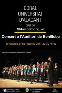 Choir of the University of Alicante offers a concert in Benilloba