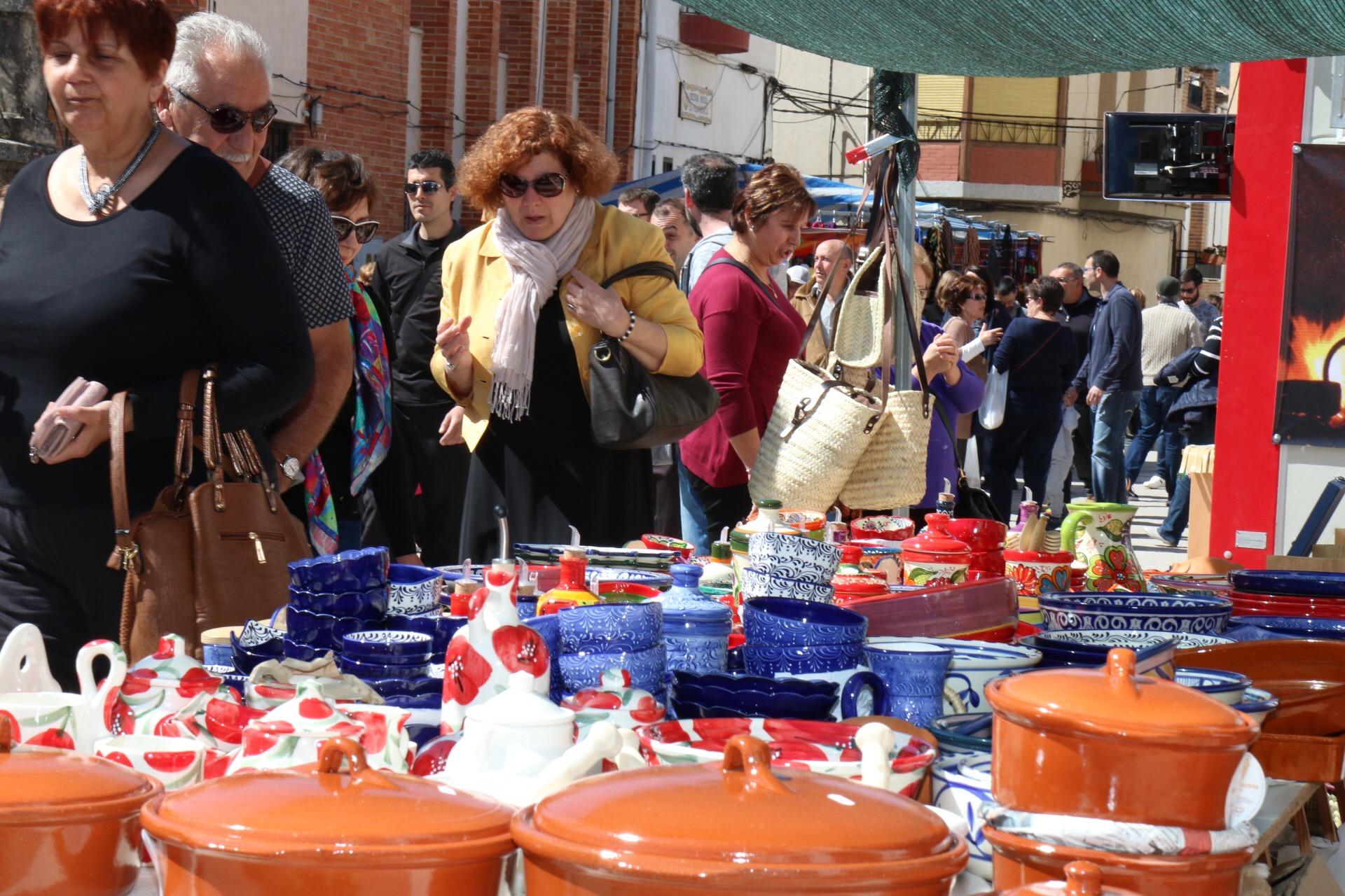 Mercado tradicional de Viernes Santo