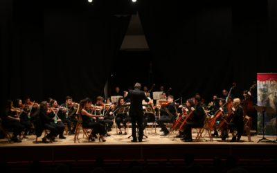 La Filharmònica de la Universitat d'Alacant tanca el cicle de Concerts de Tardor a Benilloba