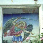 Retablo Cerámico de San Miguel Arcángel