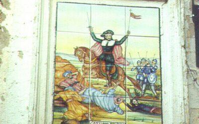 Retablo Cerámico de Santiago Apóstol